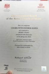 charoltte-hayes-abrsm-grade-1-piano-distintion