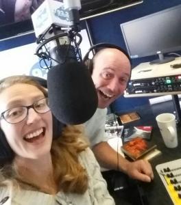 anneka Sutcliffe radio shot